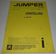 Werkstatthandbuch Citroen Jumper Vorstellung Jahr 2001 Kastenwagen Kombi 4WD!