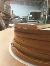 15MM T TRIM OAK TABLE TRIM 5 METRE  FURNITURE KNOCK ON EDGING VW CAMPERVAN