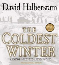 The Coldest Winter : America and the Korean War by David Halberstam 12 CD's NEW!