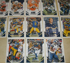 2015 STL RAMS 40 Card Lot w/ SCORE Team Set 29 CURRENT Players TODD GURLEY RC