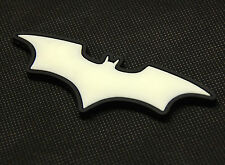The Dark Knight Batman 3D PVC Glow In The Dark GITD SWAT Rubber Patch Hook