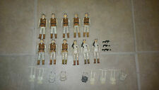 Vintage Star Wars Hoth Rebel Soldier Lot