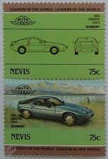 1980 PORSCHE 928S Car Stamps (Leaders of the World / Auto 100)