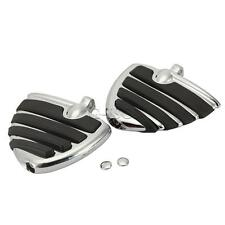 Chrome Rear Foot pegs Foot Rests For Harley Davidson Softail Deluxe Deuce FLSTN