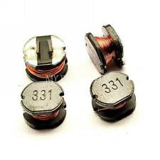 5PCS CD75 330uH 331 SMD Power Inductors Diameter:7mm high:5mm