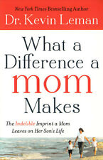 NEW Christian Parenting Book! What a Difference a Mom Makes - Dr. Kevin Leman