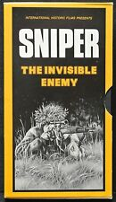 1985 SNIPER - THE INVISIBLE ENEMY By International Historic Films -RARE VHS Tape