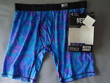 Neff Mens Active Underwear Boxer Brief XL Floral Sport Polyester Spandex NWT
