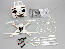 White MJX X400 2.4Ghz 6-axis Gyro 4CH RC quadcopter drone Helicopter without Cam