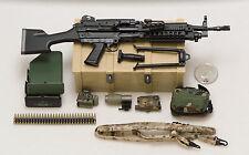 1/6 Soldier Story MK46 MOD1 Gunner MK46 MOD1 Machine Gun *TOY*
