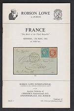 FRANCE, the BIRTH of the THIRD REPUBLIC, RG Paris collection, auction catalogue