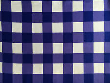 "Westminster Fibers Free Spirit PURPLE CHEEKY CHECKS 2"" Jumbo Gingham- yards"