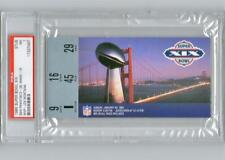~SUPER BOWL XIX Ticket Stub Forty Niners vs. Dolphins PSA 7 NEAR MINT~