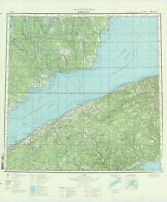 Russian Soviet Military Topographic Maps - RIMOUSKI (Canada),ADG, ed. 1985