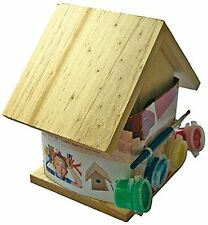 Paint Your Own Wooden Bird House Price for 1 Each