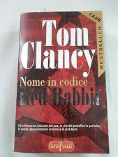 NOME IN CODICE RED RABBIT TOM CLANCY ROMANZO LIBRO BEST SELLER!!! ENTRA!!!
