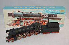 LOCOMOTIVA IN METALLO CON RIMORCHIO MARKLIN HO 3005 lokomotive mit schlepptender