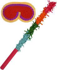 Pinata Palo De Buster & Venda - multicolor Antifaz Juego Fiesta Cumpleaños Ba