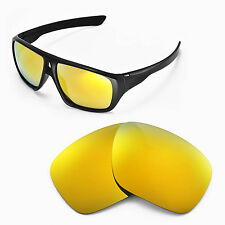 New Walleva Polarized 24K Gold Replacement Lenses For Oakley Dispatch Sunglasses