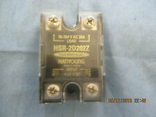 Hanyoung Model: HSR-2D202Z Single Phase Non-Contact Relay, For Low Voltage    O