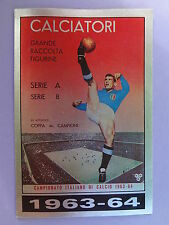 FIGURINA PANINI CALCIATORI SCUDETTO ALBUM N.300 1963-64 1985-86  NEW - FIO