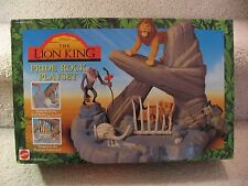 Disney The Lion King - Pride Rock Playset - Mattel- 1994 - NIB & Sealed