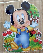 Nouveau Disney Mickey Mouse Bébé Chambre Mur Sticker Grand 85 x 53 cm
