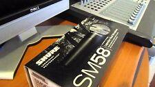 Shure SM58-LCE haute qualité handheld cardiod vocal microphone dynamique