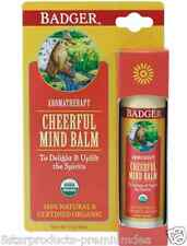 NEW BADGER COMPANY CHEERFUL MIND BALM AROMATHERAPY SOOTHES EMOTIONAL DAILY CARE