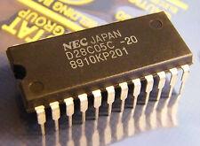 uPD28C05C-20 512 x 8-bit CMOS EEPROM, NEC