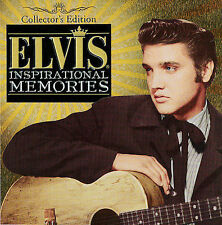 ELVIS-Inspirational Memories CD& DVD Collectors Edition SEALED Tin+Guitar Candle