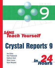 Sams Teach Yourself Crystal Reports 9 in 24 Hours-ExLibrary