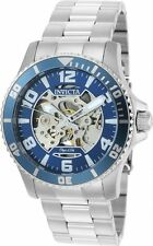 Invicta Objet D Art Automatic Blue Skeleton Dial Mens Watch 22603