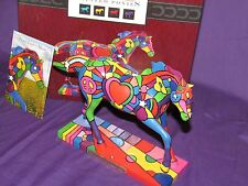 2010 Trail of Painted Ponies PEACE, LOVE & MUSIC 1960s POP Horse 1E/1809 MIB!