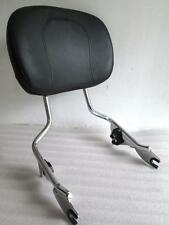 BACKREST SISSY BAR 4 HARLEY TOURING ROAD KING 09-16 GLIDE STREET ELECTRA FLH