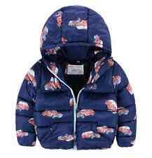 NEW Toddler Boys Winter Jacket with CARS print, Size 2T