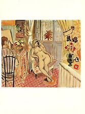 "1973 Vintage MATISSE ""THE ARTIST AND HIS MODEL"" SWEET COLOR offset Lithograph"