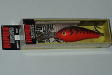 Rapala DRFR 7 OCW Orange Rattln Fat Rap Discontinued Down Deep Finland Made