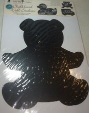"Chalkboard Removable Wall Sticker Kids  TEDDY BEAR Shape 11.5"" x13"" New"