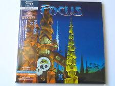 """FOCUS  """"FOCUS X""""  Japan mini LP SHM CD"""