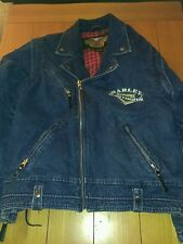 HARLEY DAVIDSON  LARGE  DENIM  PANHEAD   ALSO HAVE IN OTHER SIZES