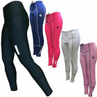 SHADOW LADIES PADDED CYCLE TIGHTS FULL LENGTH CYCLING LEGGINGS horse riding