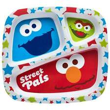 ELMO  PLATE (DIVIDED) & CUP SET