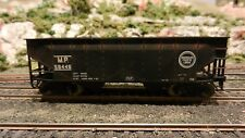 Atlas HO Missouri Pacific Offset Twin Hopper, Upgraded, Weathered, Exc.