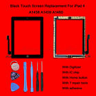 Touch Screen Lens Digitizer with IC Chip Home Button For iPad 4 Replacement AU