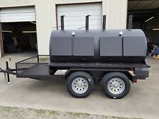 4896 Rotisserie BBQ Grill, Smoker, Cooker on Trailer by HEARTLAND COOKERS
