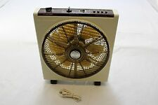 VINTAGE Hitachi Portable Electric Fan With Timer & Angle Control Model BF-63EA