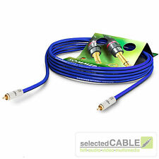 SOMMER CABLE SC-Vector 0.8/3.7 Cinch S/PDIF 75 Ω Sub- Videokabel | VT2I-0090-BL