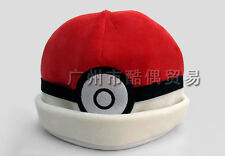 Cosplay Pokemon Pokeball Plush Sombrero Poke Baile Gorro Adulto Adolescente