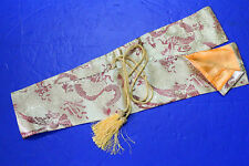 Silk Sword Bag For Katana Shinai Has dragon and Phoenix
